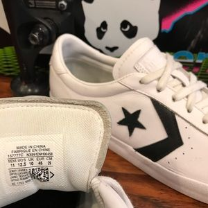 Converse Shoes - Converse Breakpoint Pro Ox White  Skate Shoes